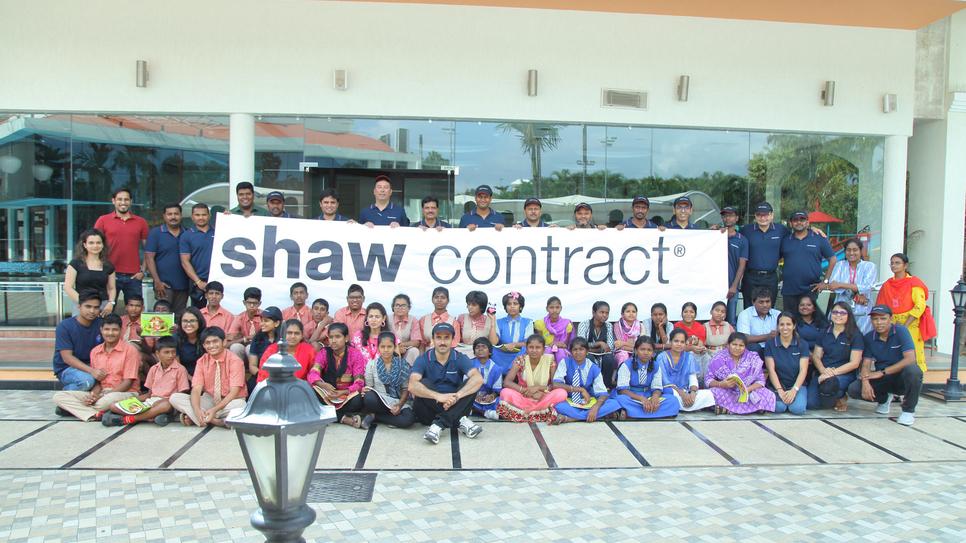 Shaw Contract, CSR, Samarthanam Trust, NGO, Underprivileged children, Bangalore international airport, Phil Decker