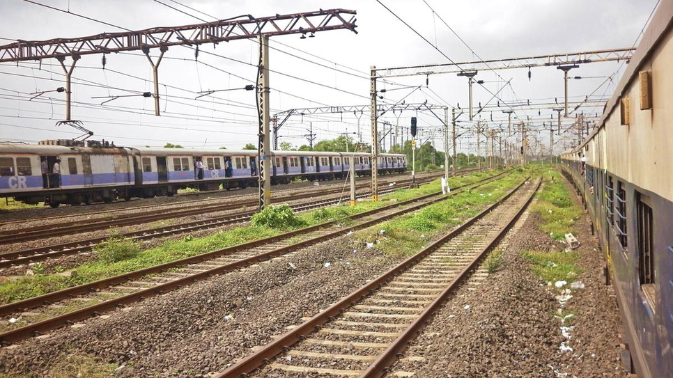Mumbai Railway Vikas Corporation, MRVC, Vasai, Panvel, Diva, Union Budget, Central Railway, Automatic signalling, Nilaje, Kopar, Suburban rail corridor, Virar, Mumbai Urban Transport Project, Bhiwandi, Taloja