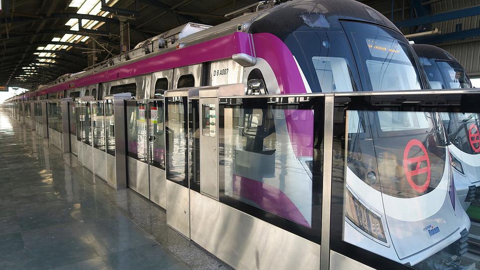 Delhi Metro, DMRC, Patna Metro Rail, Bihar, High voltage cabling, Grid substation