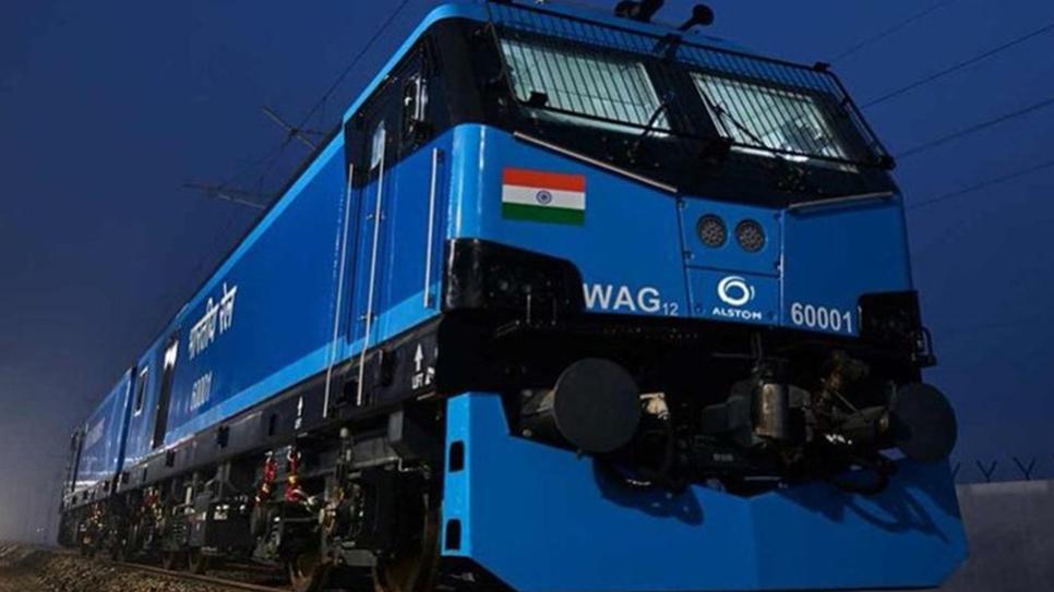 Indian Railways, Alstom, Locomotive, Nagpur, Dedicated freight corridor, Madhepura, Bangalore, Madhepura Electric Locomotive