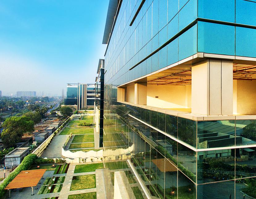 K Raheja Corp, Mindspace Business Parks, Airoli, Pune, Vinod Rohira, Sword of Honour, British Safety Council, Good governance, Hyderabad, Mindspace Airoli East, Mindspace Madhapur, Commerzone Yerwada