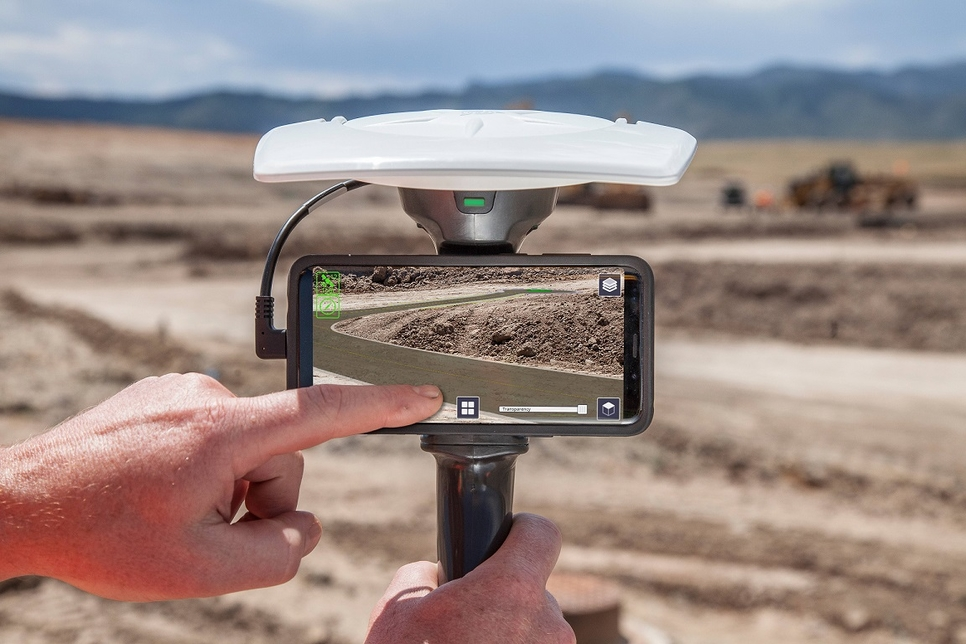 Trimble, Excon 2019, Rajan Aiyer, Didier Colin, Roads, Highways, Airports, Earthworks Grade Control Platform, Trimble LOADRITE Payload Management
