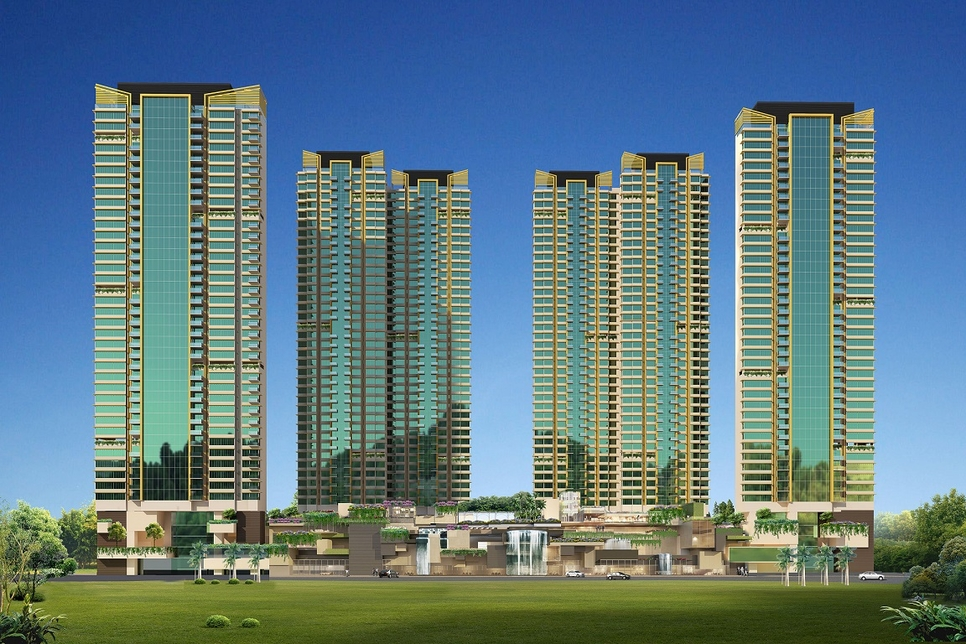 Ashwin Sheth Group, Residential segment, Retail and commercial projects