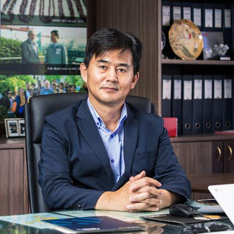 ES Lee, Hyundai Construction Equipment, Excon 2019
