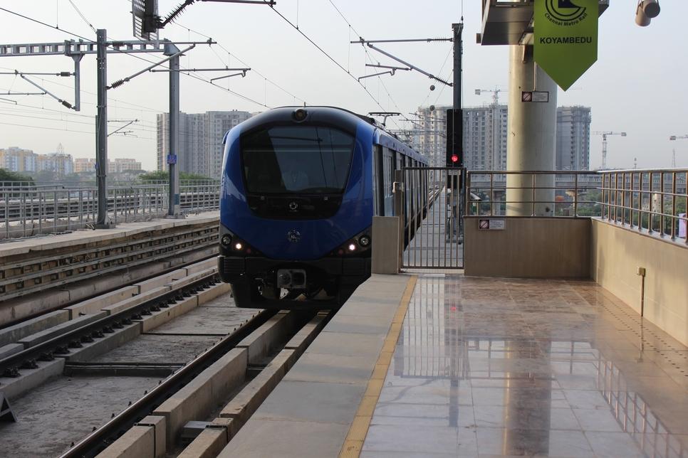 Asian Infrastructure Investment Bank, Chennai Metro Rail project, Japan International Cooperation Agency, Kodambakkam, Mylapore, Asian Development Bank, Poonamallee Bypass, Meenakshi College