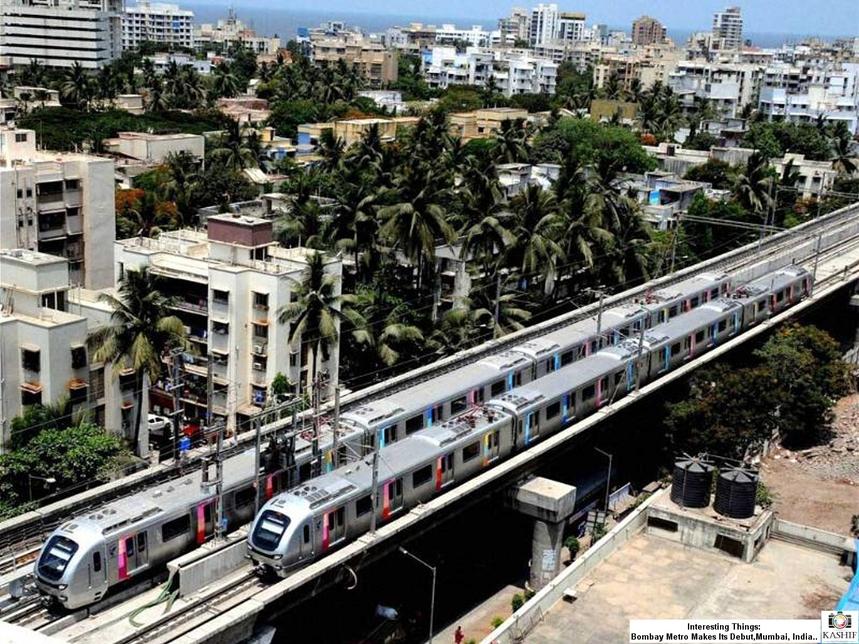 Mumbai Metropolitan Region Development Authority, MMRDA, Mumbai Metro Rail Project, Line-7 elevated viaduct, Station viaduct, Pre-engineered steel roof, Andheri East, Dahisar East, JVLR Junction