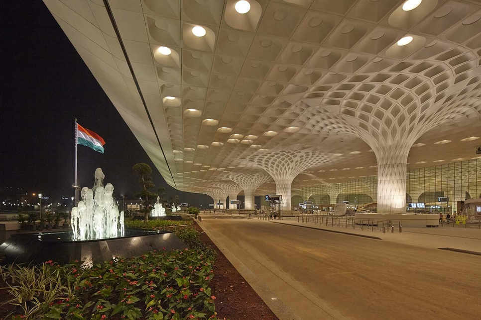 Chhatrapati Shivaji Maharaj International Airport - Terminal 2, GVK, Mumbai International Airport, American Institute of Architects Award 2020, Architecture Awards, Skidwell Owings & Merill LLP, Jaya He, Dr GVK Reddy