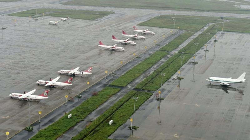 Dilip Buildcon, Letter of acceptance, New greenfield airport, Hirasar, Rajkot, Gujarat, Airports Authority of India, Detailed designing, EPC, Taxiways, Airfield ground lighting system