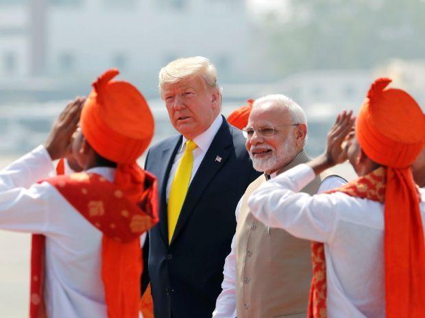 Donald Trump, Motera stadium, Ahmedabad, Melania Trump, US President