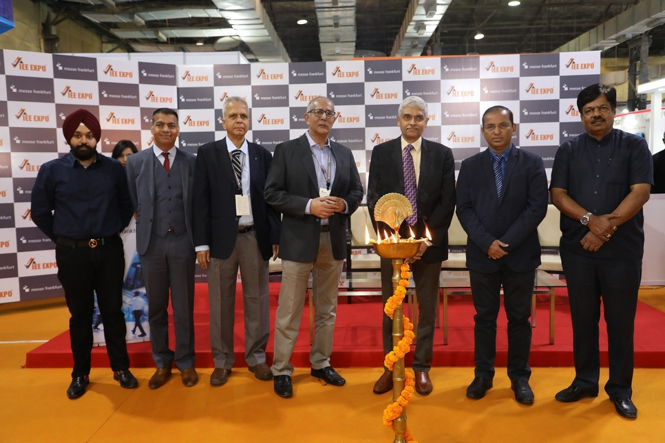 IEE Expo; Bombay Exhibition Centre, Elevators and escalators, Dhirajkumar S Pandirkar, MHADA, Sebi Joseph, Otis, Bharat Bijlee, Omkar, Messe Frankfurt Asia, CREDAI-MCHI