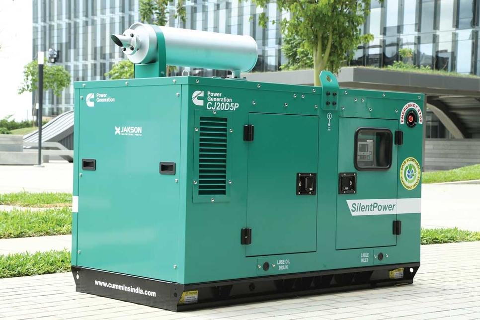 Diesel generators, Generators, Cummins, Babu Nagarajan, Rakesh Reddy, Rohit Poddar, Aparna Constructions & Estates, Poddar Housing