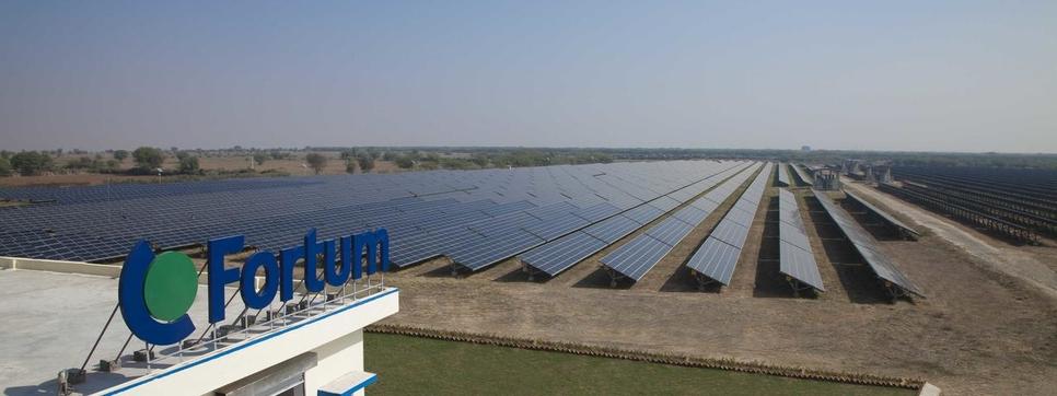 Finnish energy company, Fortum, Solar power project, Pavagada solar power park, Karnataka