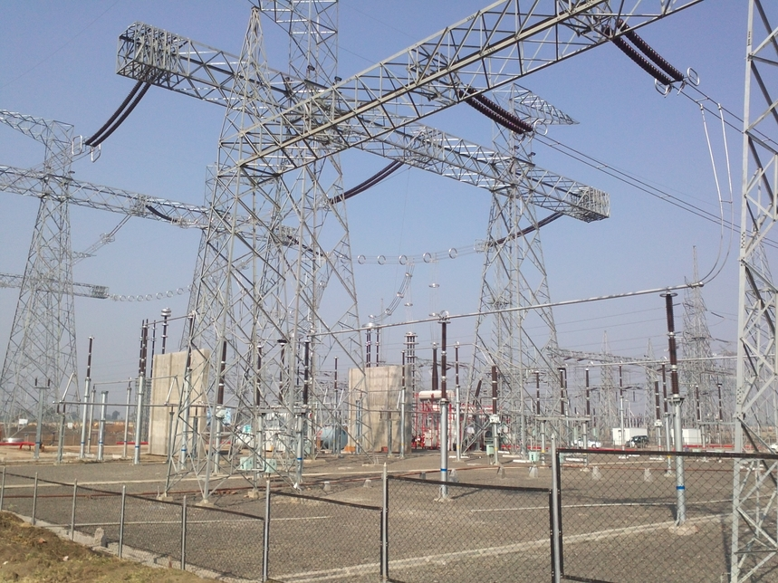 Skipper, Transmission line testing station, Barunda village, Howrah district, West Bengal, Transmission and distribution towers and poles, R&D centre, Department of Scientific and Industrial Research, Government of India
