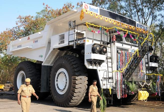 BEML, Coal India, 150-T dumpers, 190-T dumpers, Spare parts, South Eastern Coalfields, Chhattisgarh, Gevra project, Northern Coalfields, Amlohri and Nigahi projects, Madhya Pradesh