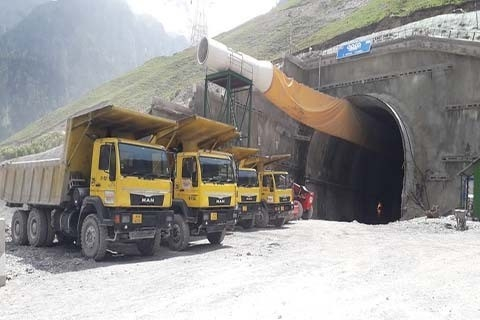 National Highways & Infrastructure Development Corporation, NHIDCL, Floated tender, Z-Morh-Zojila section, Construction of twin tube uni-directional tunnel, Nilgrar, Srinagar-Leh section, NH-1, Ganderbal district, Union territory of Jammu and Kashmir