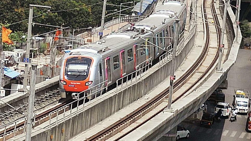 Mumbai Metropolitan Region Development Authority, MMRDA, Mumbai Metro Rail Project Line-7, External facade works, Elevated stations, Gundavali, Jogeshwari (East), Goregaon (East), Andheri East to Dahisar East, Aarey, Dindoshi, Kurarand Poisar, Magathane, Devipada, Rashtriya Udyan, Ovaripada