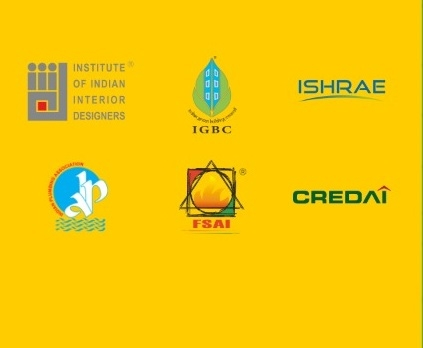 Institute of Indian Interior Designers, IIID, Confederation of Real Estate Developers Association of India. credai, CREDAI, FSAI, IGBC, IPA, ISHRAE, Jabeen L Zacharias, Vasudevan Suresh, Suresh Menon, Gurmit Singh Arora, Satish magar, Richie Mittal, Covid-19
