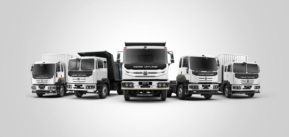 Ashok Leyland, AVTR, Modular trucks, Hinduja Group, I-Gen6, BS-VI, Drivetrain, Dheeraj Hinduja, Vipin Sondhi, Commercial vehicles, Anuj Kathuria, Fleet management system