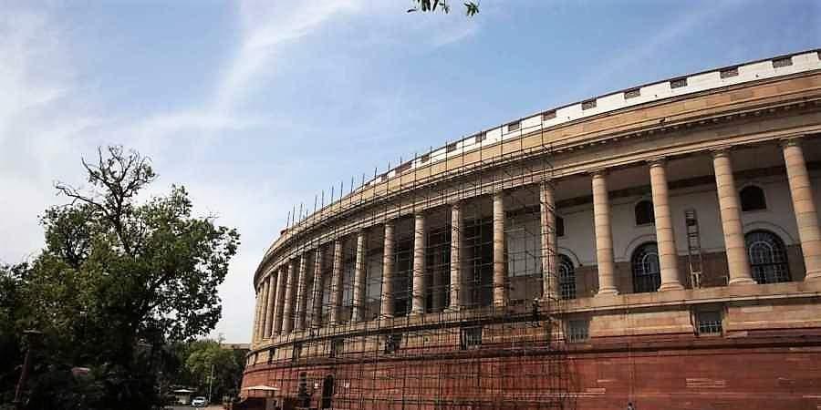 Parliament building, Delhi, Central Public Works Department, Reinforced cement concreteframe structure, MEP services, Masonry, Batching plant
