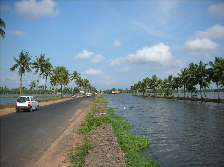Public Works Department, Alappuzha-Changanassery Road, Kerala, World Bank, First Resilient Kerala Program, Rebuild Kerala Initiative