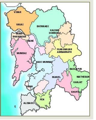 Urban Development Department, Maharashtra, MMR, Mumbai Metropolitan Region, Palghar, Vasai, Bhiwandi, Kalyan, Ambernath, Karjat, Khalapur, Pen, Alibaug, MMRDA, Greater Mumbai, Thane, Kalyan Dombivali, Mira-Bhayander, Navi Mumbai, Municipal councils, Sahyadri, Ulhasnagar