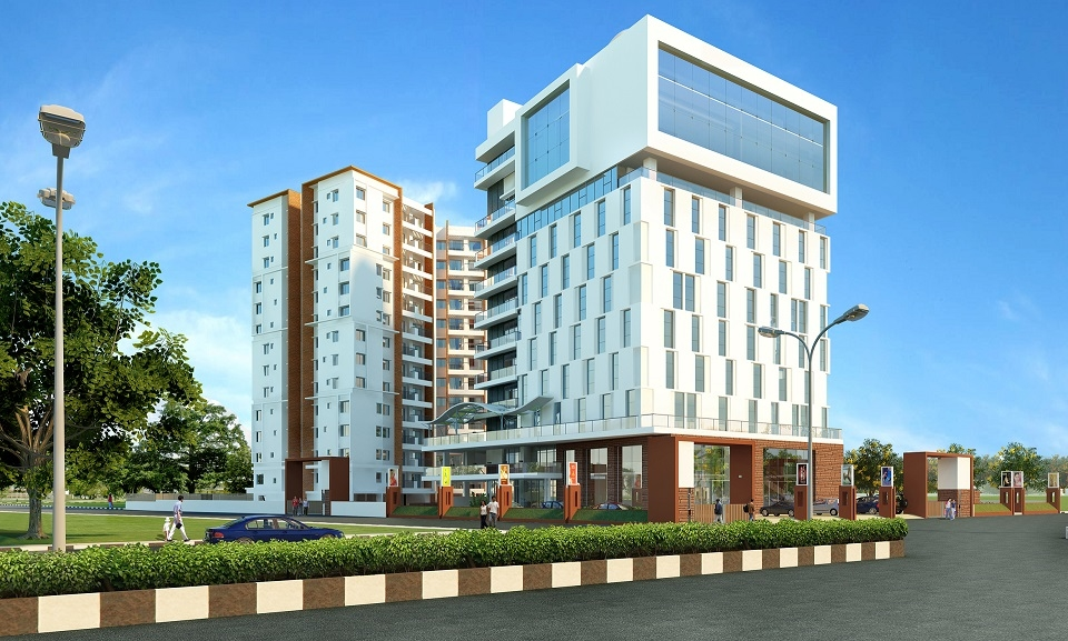 Akshaya, CUBE, Real estate developer, Grade-A boutique office spaces, Old Mahabalipuram Road, Perungudi Toll, Chennai, Silver Green pre-certification, Indian Green Building Council, Rainwater harvesting, T Chitty Babu, Velachery, Thiruvanmiyur, Thoraipakkam, Sustainable development, Akshaya Services, Domaine, Karapakkam