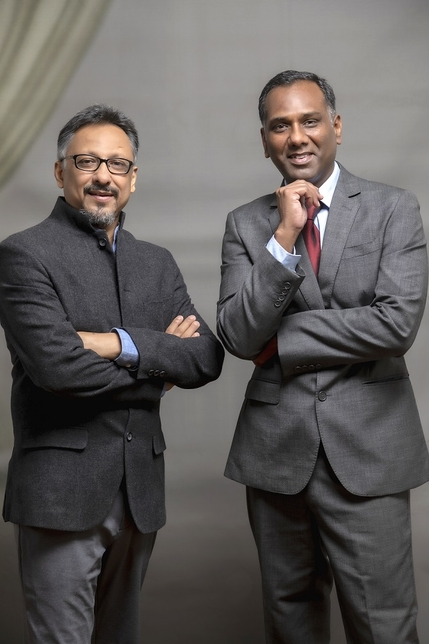 Architects Anupam Bansal and Rajesh Dongre of ABRD.