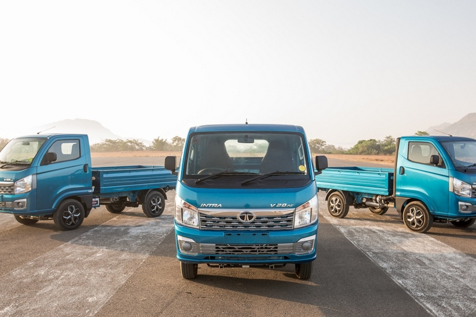Tata Motors develops compact truck Intra
