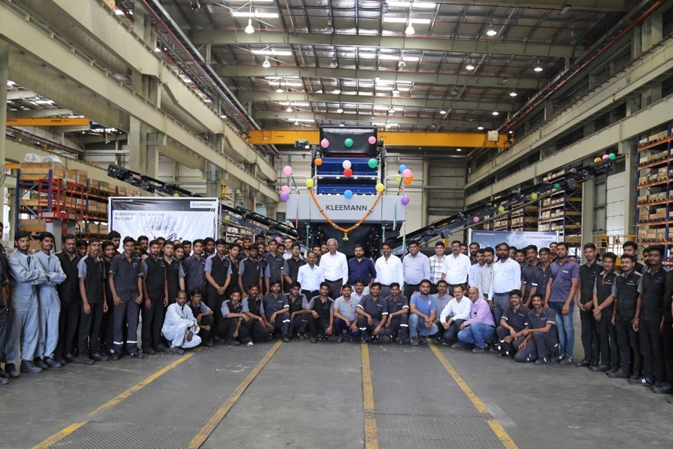 Wirtgen India rolls out 500th Kleemann screen from Pune, India factory