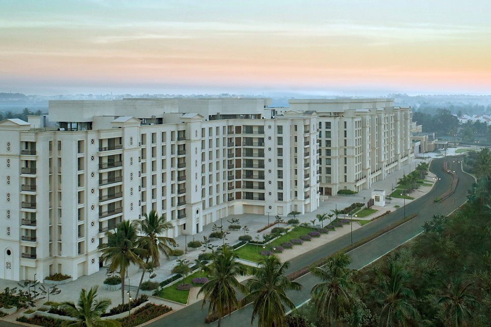 Towers at Devanahalli Township by House of Hiranandani adorn the sky