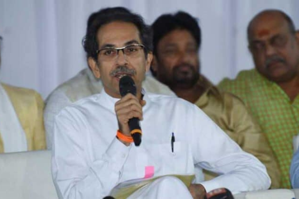 First girder of Mumbai Trans-Harbour Link launched by Uddhav Thackeray