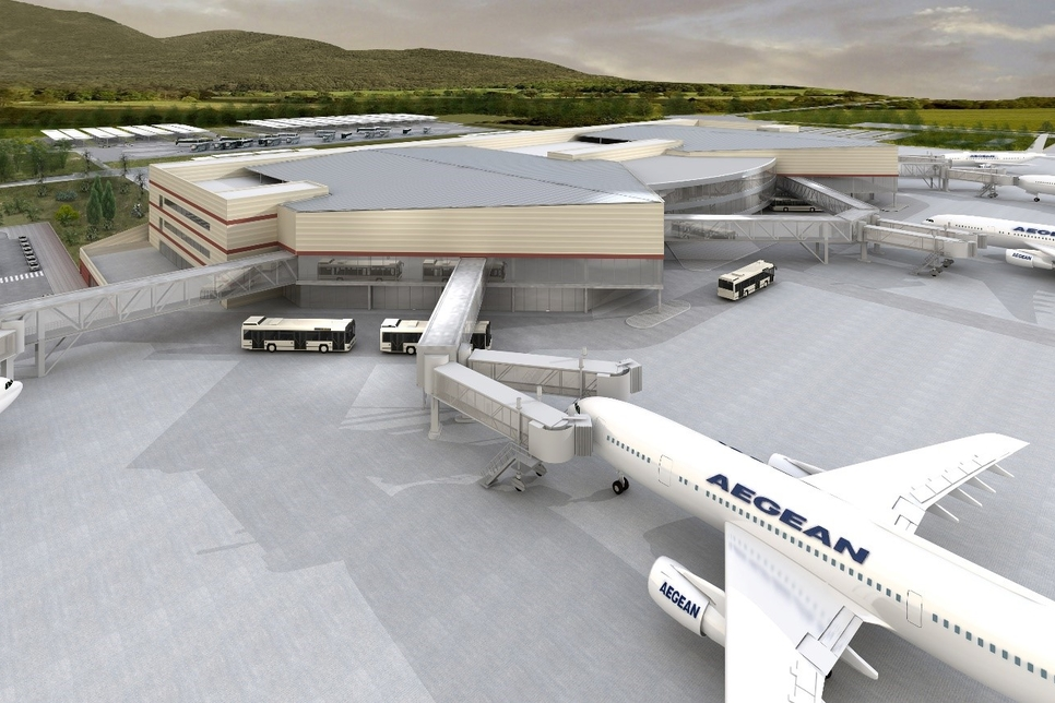 GMR Airports achieves concession commencement date for airport at Crete, Greece